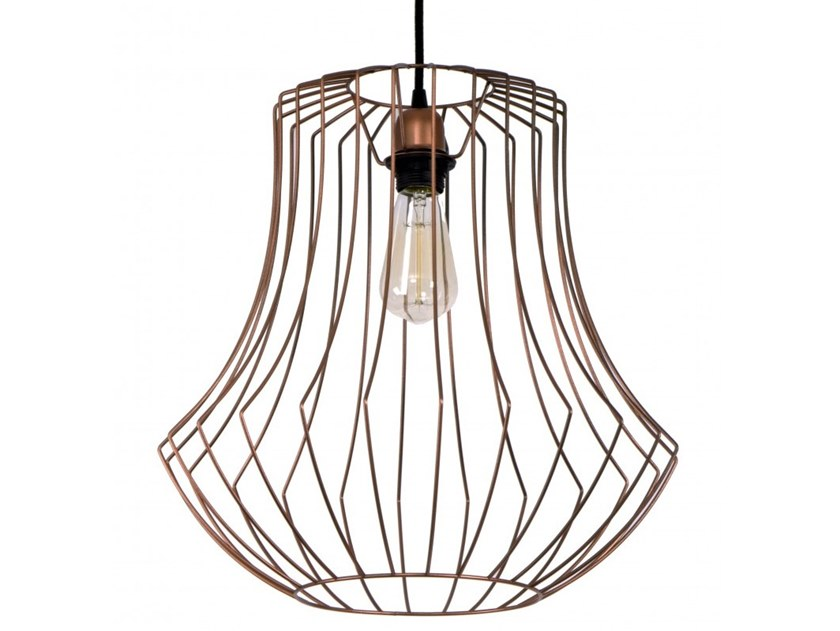 Metal pendant lamp CHARLOTTE by Flam & Luce
