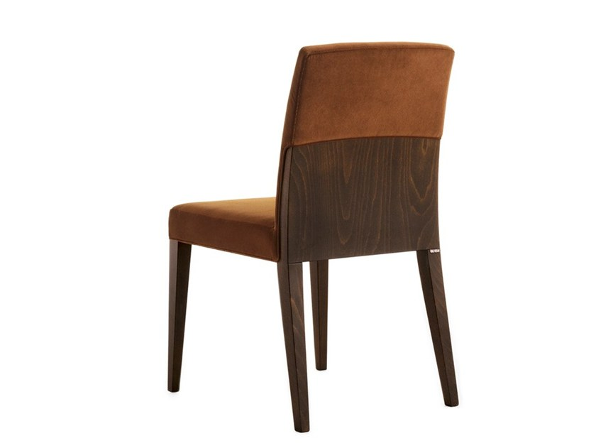 Upholstered chair CHARME 02511 by Montbel