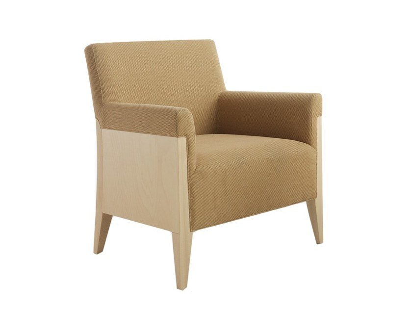 Easy chair with armrests CHARME 02541 by Montbel