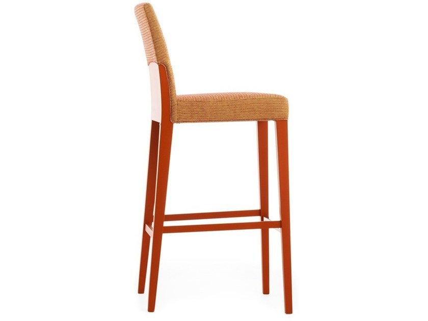 High upholstered stool CHARME 02581 by Montbel
