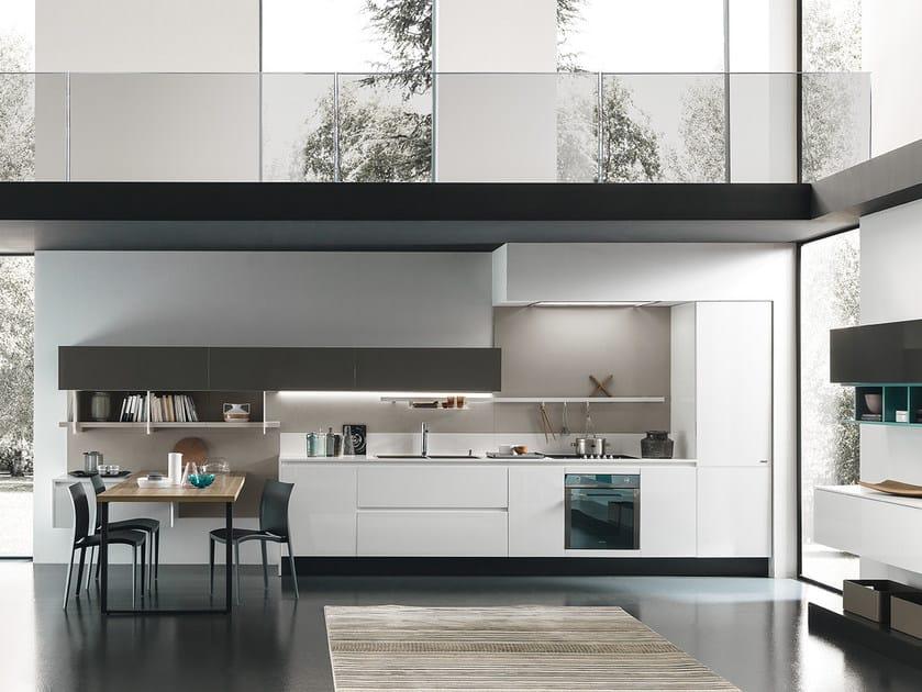 CHARME 37 | Cucina senza maniglie By Febal Casa design Alfredo Zengiaro