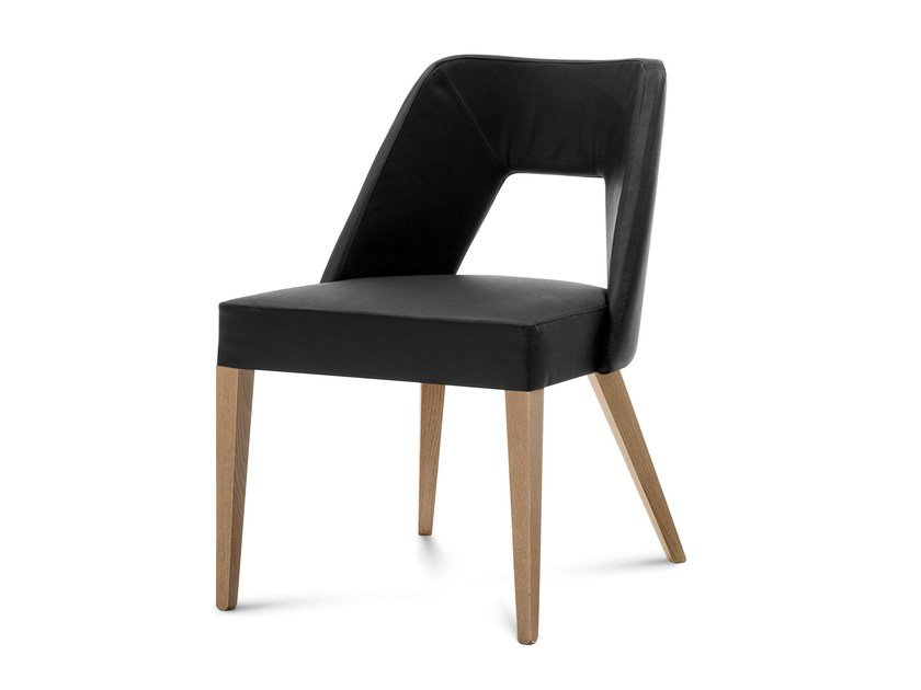 Upholstered guest chair CHARME-M by DOMITALIA