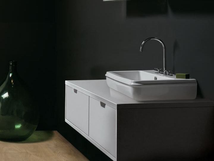 Countertop rectangular washbasin CHARME | Countertop washbasin by AZZURRA sanitari