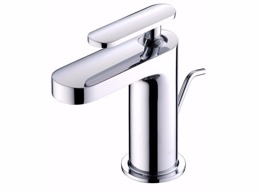 Countertop single handle 1 hole washbasin mixer CHARMING   Countertop washbasin mixer by JUSTIME