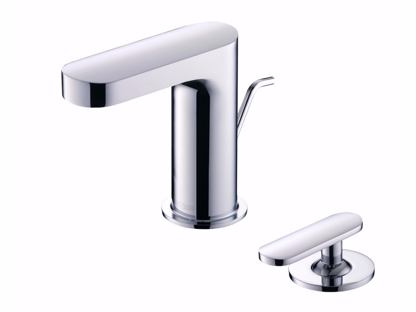 2 hole countertop washbasin mixer with aerator CHARMING | Washbasin mixer with aerator by JUSTIME
