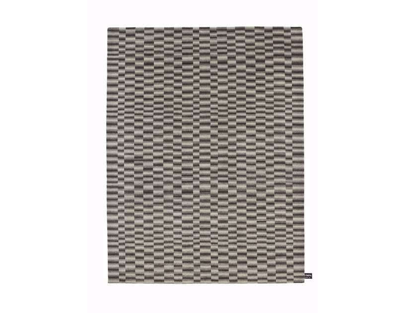 Handmade custom rug CHECK 2 by cc-tapis