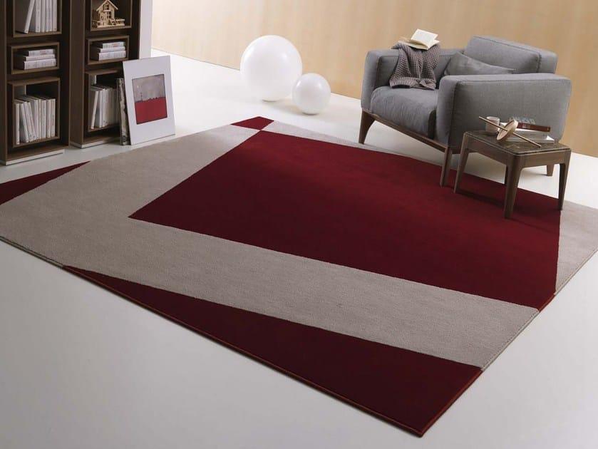 Handmade fabric rug CHELSEA by Besana Moquette