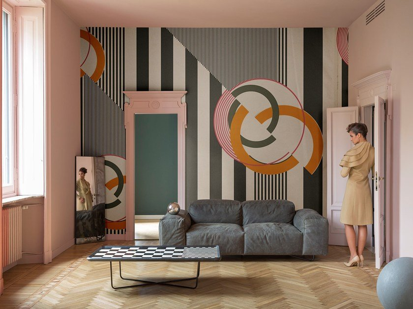 Pop Art Wallpaper Cherry Bomb Contemporary Wallpaper 2017 Collection By Wall Deco Design Giopagani Studio