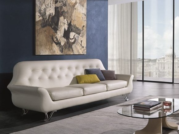 3 seater fabric sofa CHERUBINO | Sofa by Carpanelli