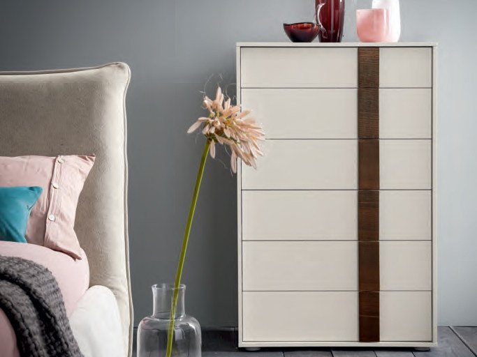 Wooden chest of drawers FLIPPER | Chest of drawers by Dall'Agnese