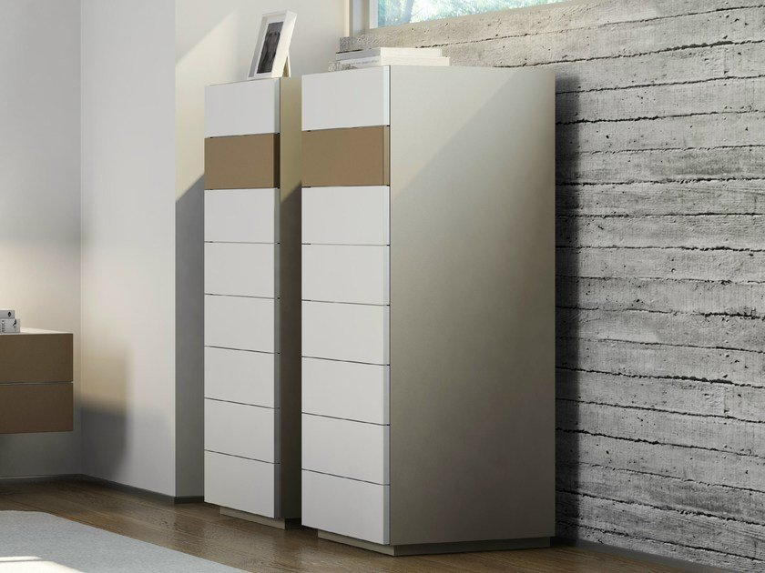 Laminate chest of drawers DR•ØNE | Chest of drawers by De Rosso