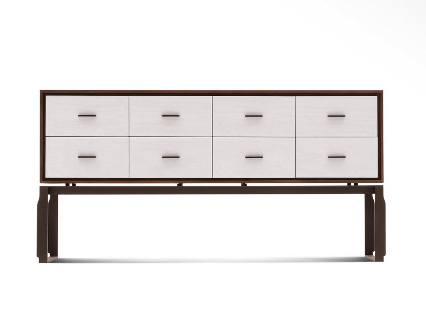 Wooden chest of drawers AEI | Chest of drawers by GIORGETTI