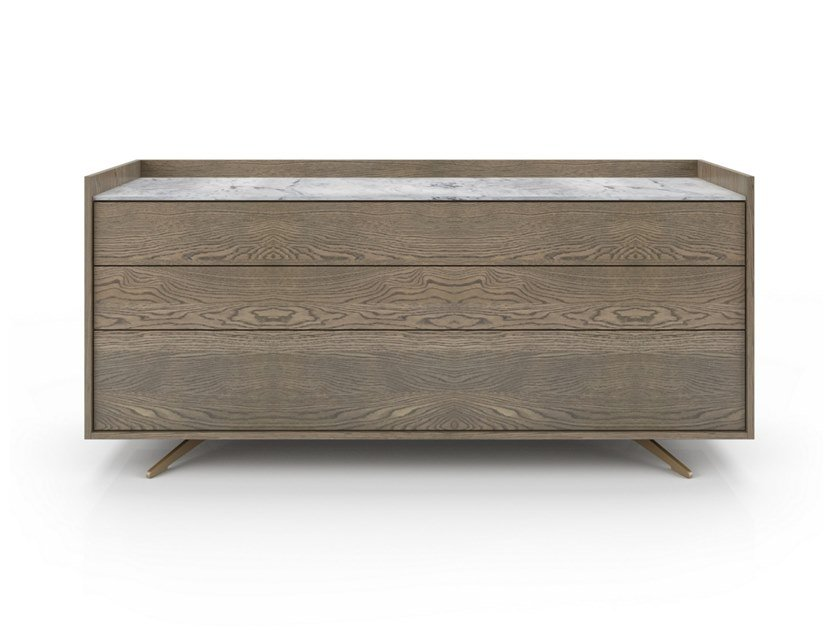 Oak chest of drawers MEMENTO | Chest of drawers by Huppé