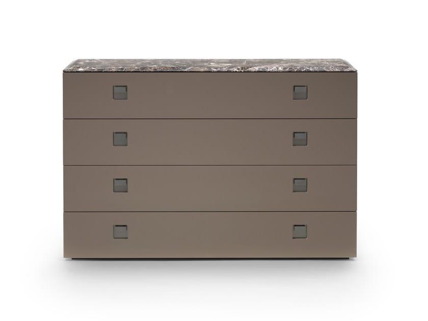 Rafael cassettiera collezione rafael by mood by flexform design