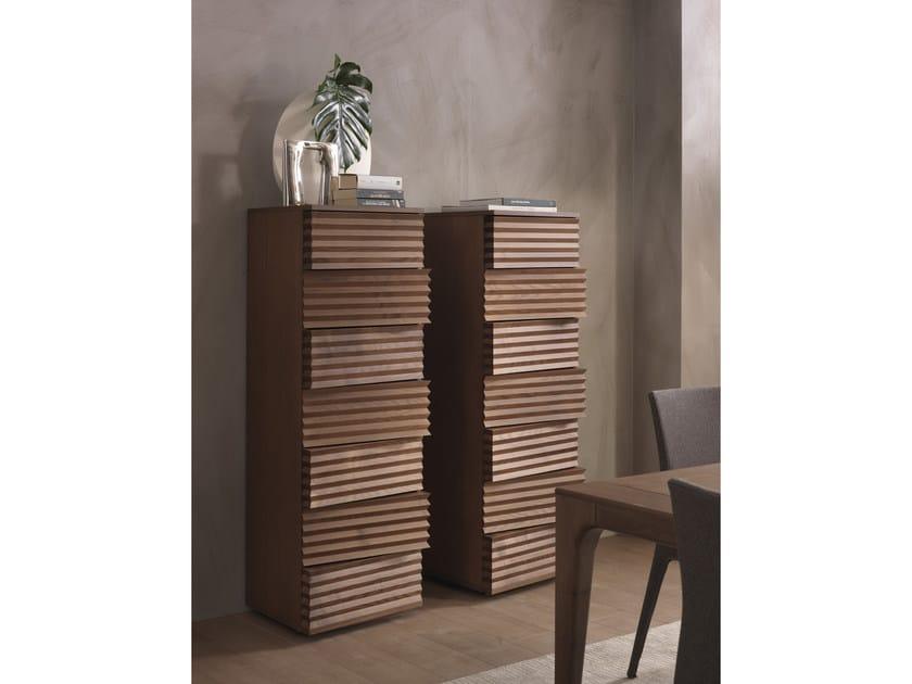 Cassettiera in fibra di legno TIFFANY | Cassettiera by Pacini & Cappellini