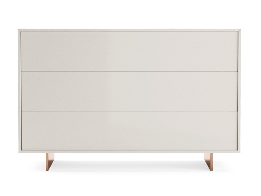 Lacquered wooden chest of drawers MOOD | Chest of drawers by PRADDY