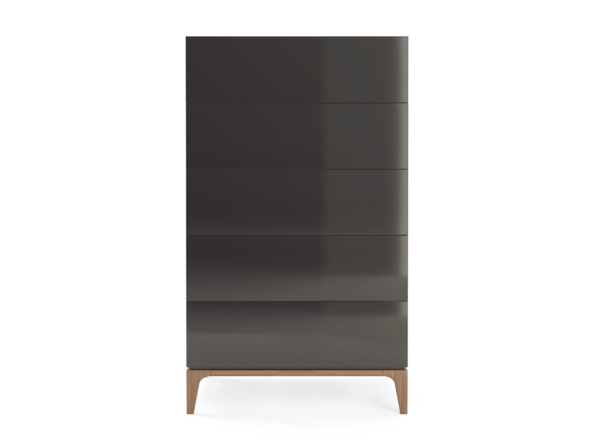Lacquered wooden chest of drawers MOONLIGHT   Chest of drawers by PRADDY