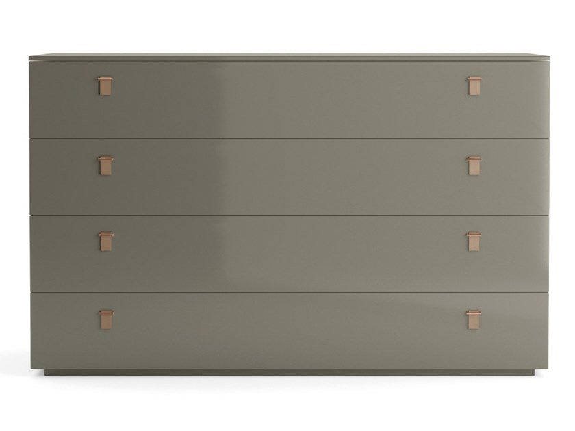 Lacquered wooden chest of drawers SERENADE   Chest of drawers by PRADDY