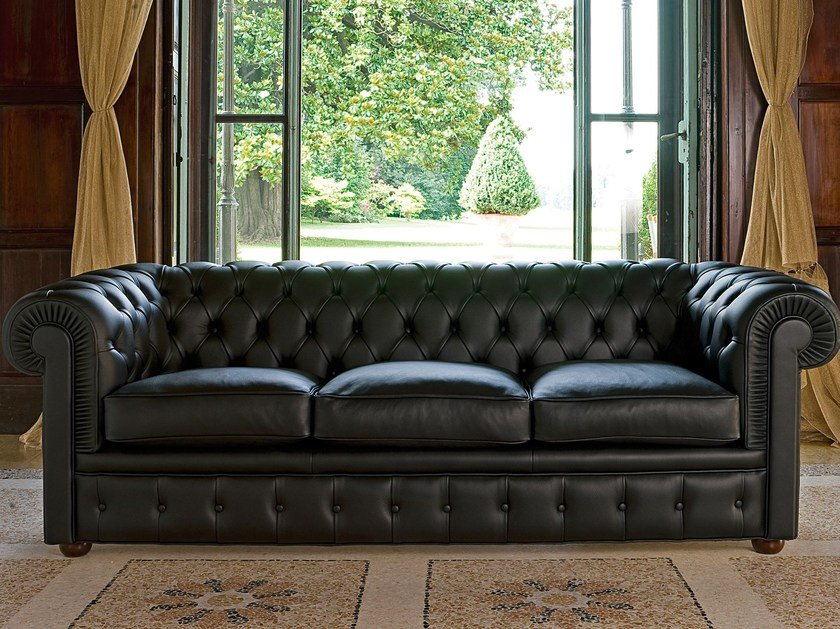 Chester 3 Seater Sofa By Berto