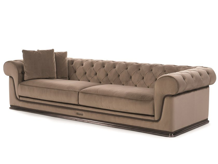 Tufted fabric sofa CHESTER DONEY by Visionnaire