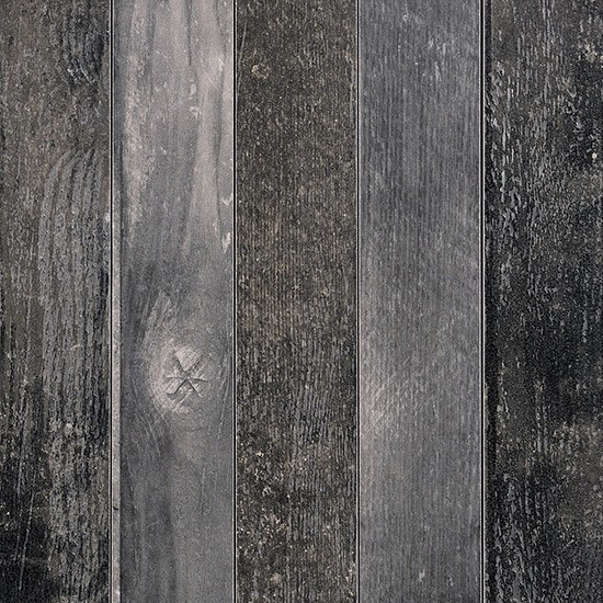 Porcelain stoneware flooring with wood effect CHEVRONCHIC | BLACK by Ceramica Fioranese