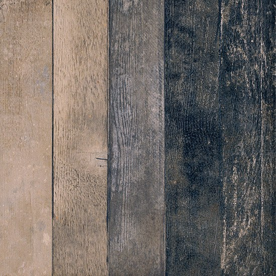 Porcelain stoneware flooring with wood effect CHEVRONCHIC | BURNT by Ceramica Fioranese