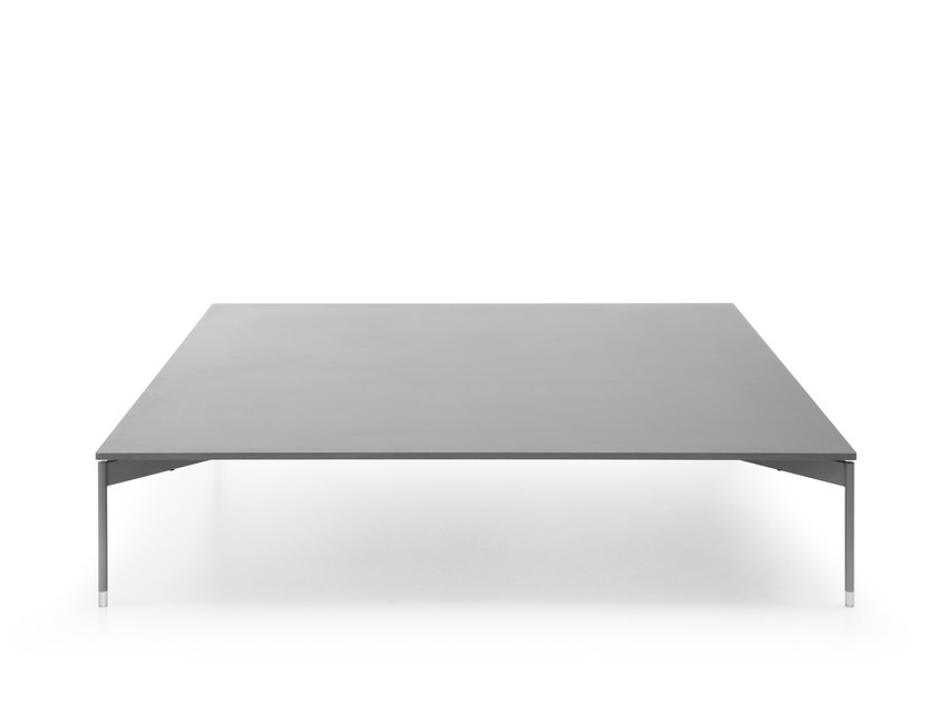 Low square coffee table CHIC TABLE CS41 by profim