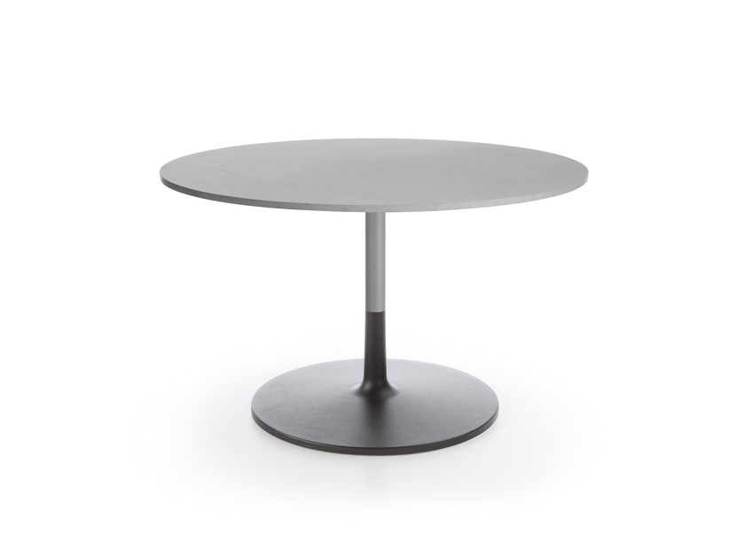 Low round coffee table CHIC TABLE RR40 by profim
