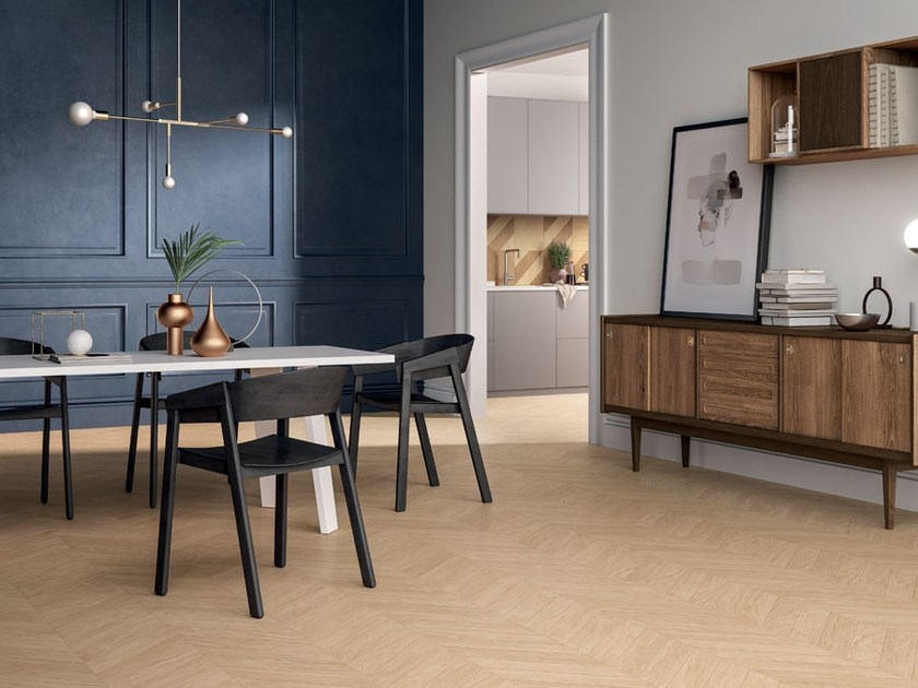 Porcelain stoneware wall/floor tiles with wood effect CHIC WOOD by Panaria Ceramica