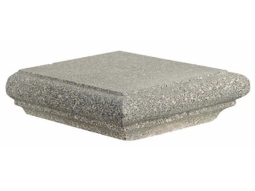 Marble grit chimney cap Chimney cap by DONZELLA PAVIMENTI