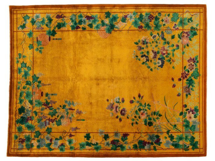 Handmade rectangular rug CHINA NICHOLSON LIBERTY 1 by Golran