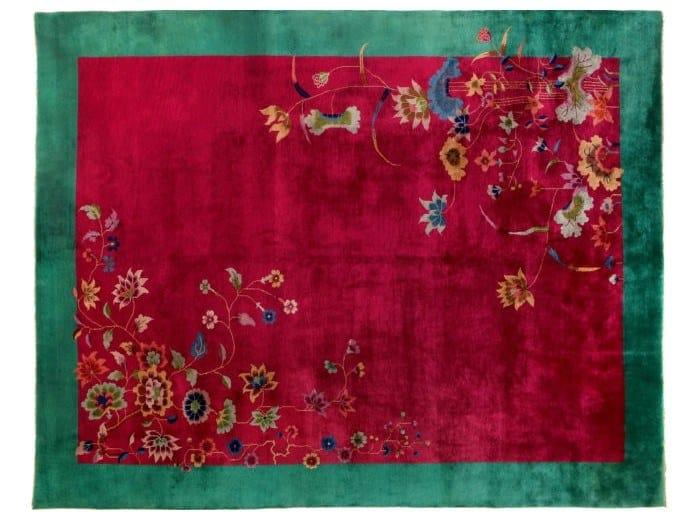 Handmade rectangular rug CHINA NICHOLSON LIBERTY 2 by Golran