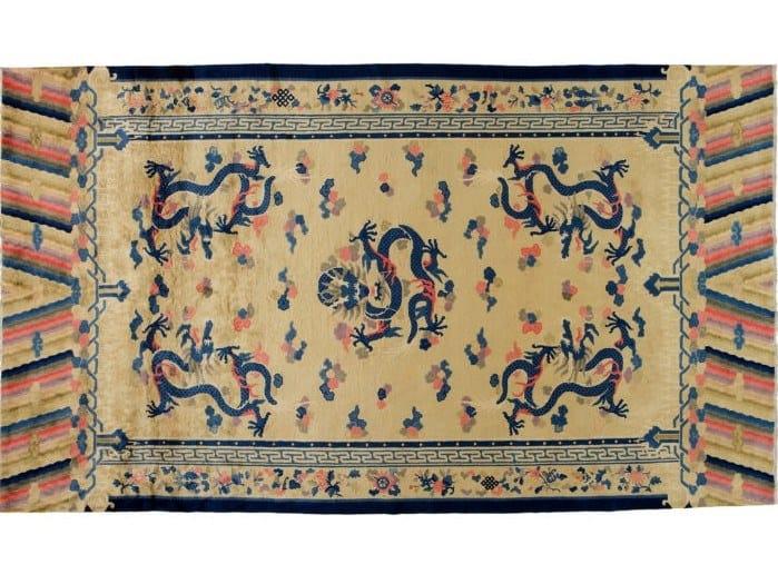Handmade rectangular rug CHINA NICHOLSON LIBERTY 3 by Golran