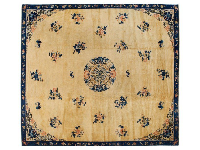 Handmade rectangular rug CHINA PEKINO 2 by Golran