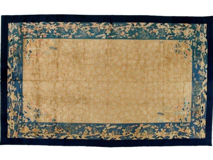 Handmade rectangular rug CHINA PEKINO 3 by Golran