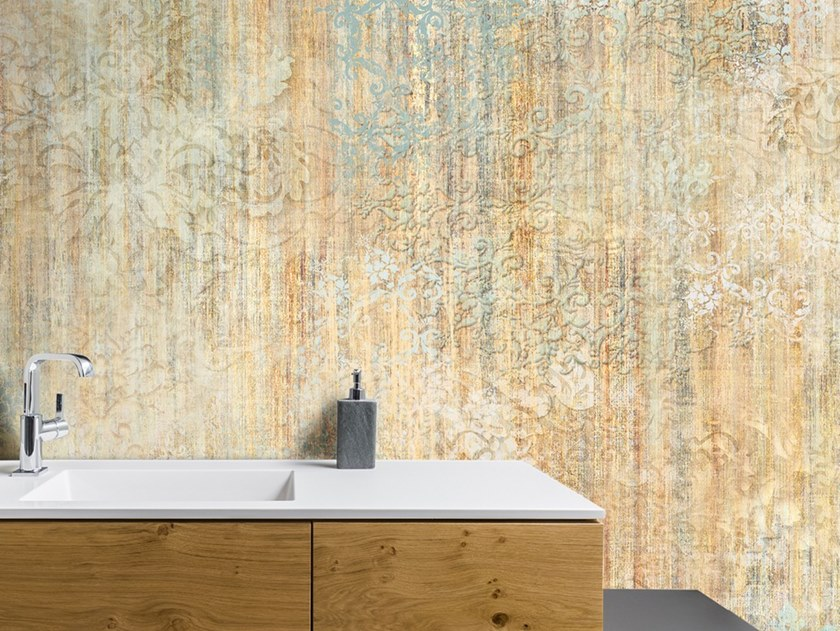 Ecological washable PVC free wallpaper CHINÈ by Wallpepper