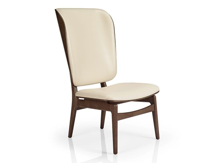 Leather Easy Chair High Back CHLOE M935HG WUU By JMS