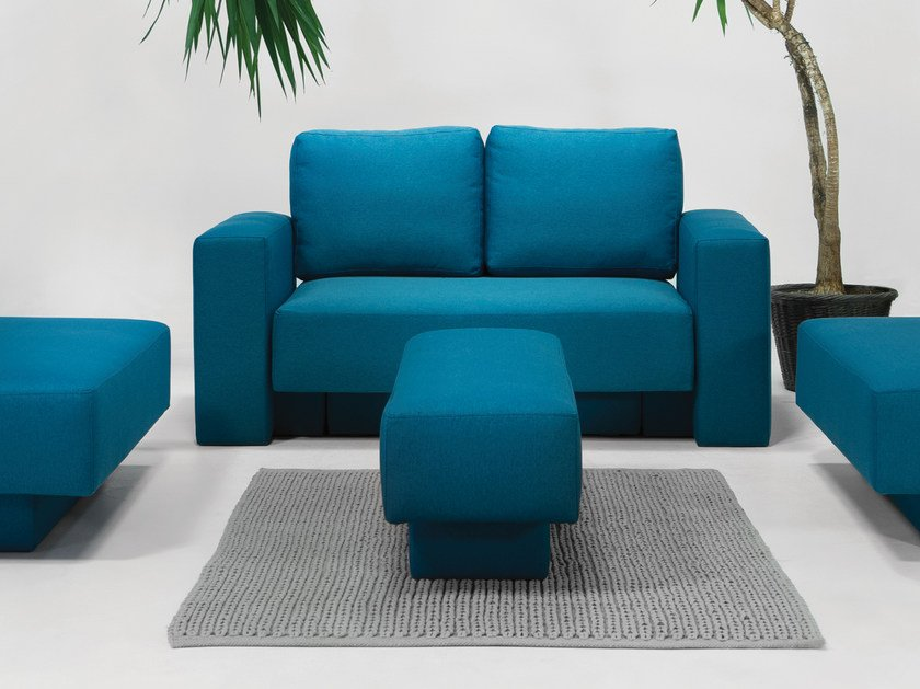2 seater sofa with removable cover CHOICE | 2 seater sofa by Feydom