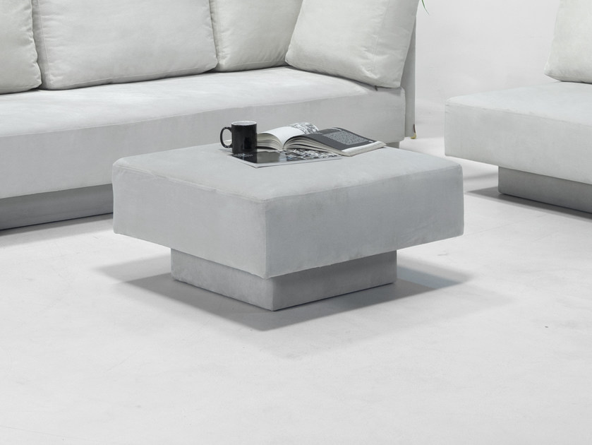 Storage square pouf CHOICE | Pouf by Feydom