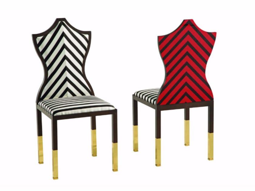 Bon Upholstered Fabric Chair CHRISTIAN LACROIX MAISON | Chair By ROCHE BOBOIS
