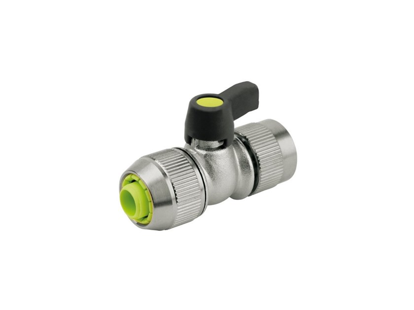 Hose Connector ball valve CHROMED TAP 337 - 338 by AQUAJET by Colortap