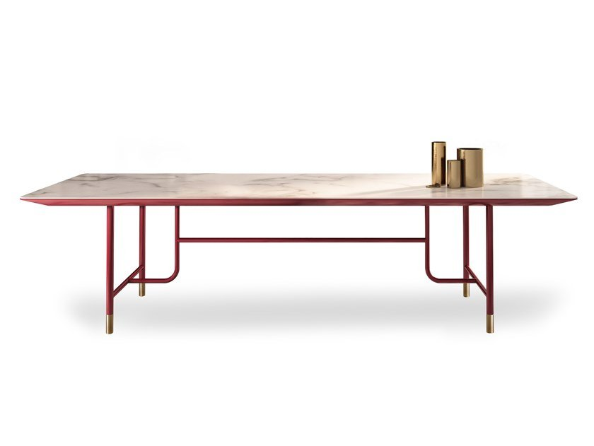 Rectangular ceramic table CIELO by ESTEL GROUP