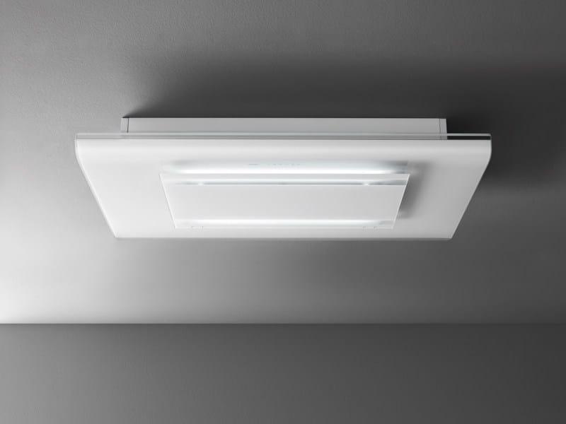 Exaustor de vidro temperado com luzes integradas CIELO by Falmec