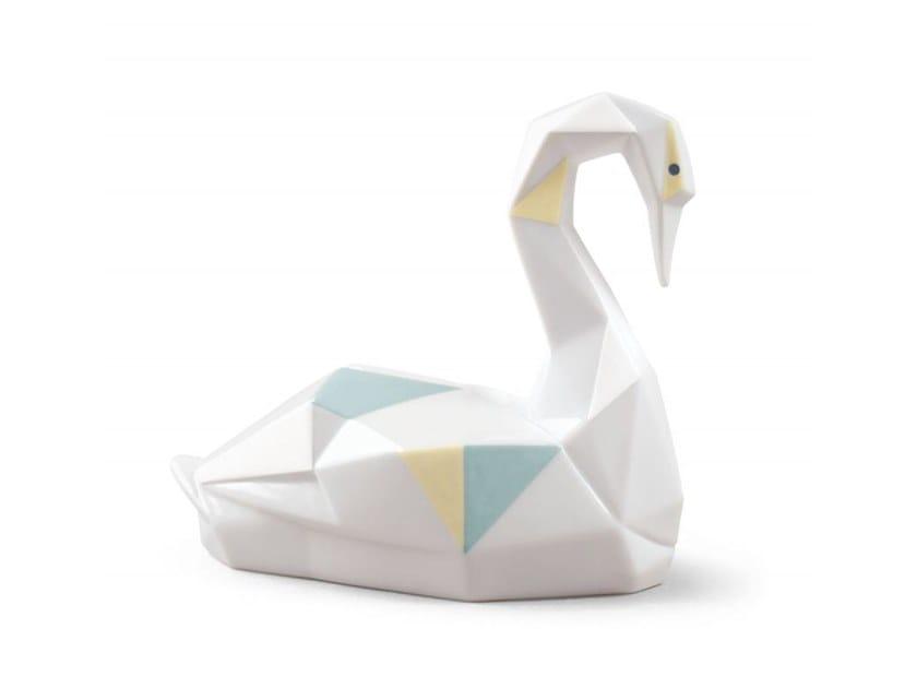 Porcelain decorative object SWAN by Lladró