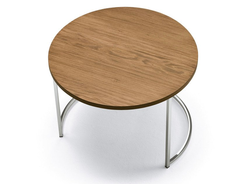 Cin Cin Wood Veneer Coffee Table By Pacini Cappellini Design
