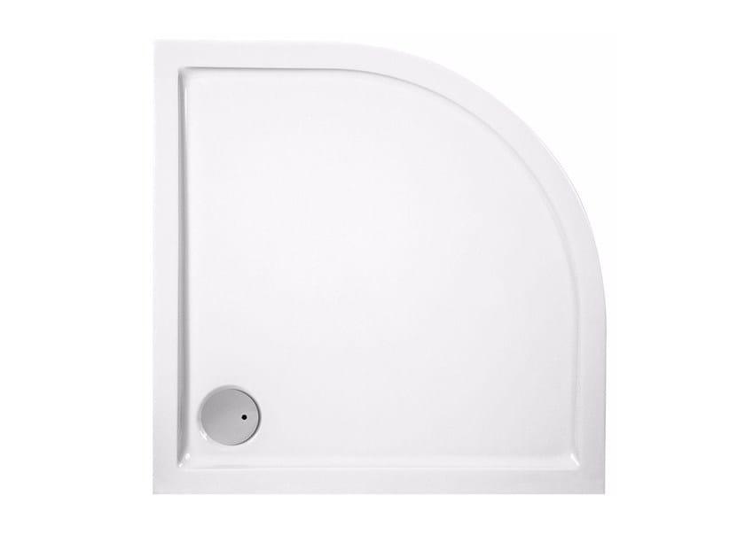 Corner acrylic shower tray CINCO   Corner shower tray by Glass1989