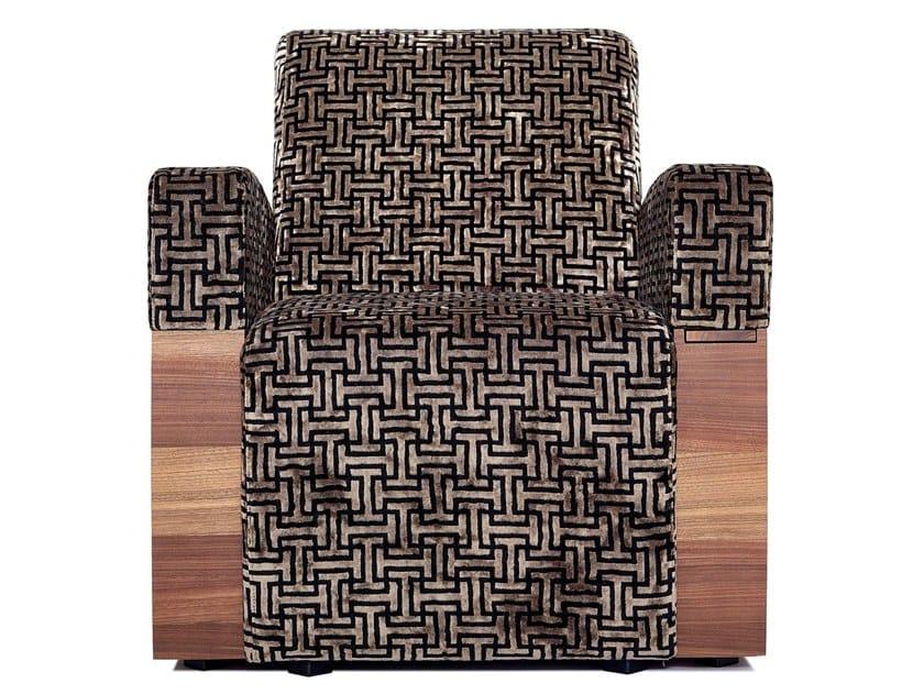 Synthetic fibre Cinema armchair MONACO | Cinema armchair by moovia