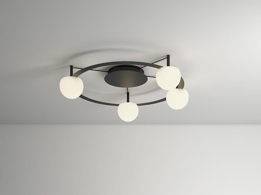 Lampada da soffitto a LED in vetro CIRC | Lampada da soffitto by Estiluz