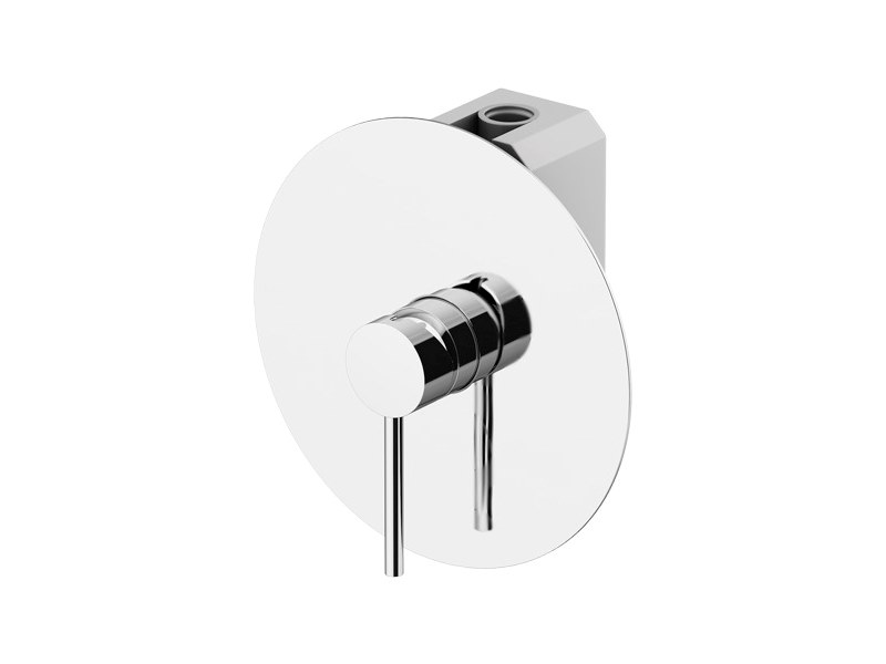 Bathtub tap / shower tap CIRCLE ONE | Recessed shower mixer by Gattoni Rubinetteria