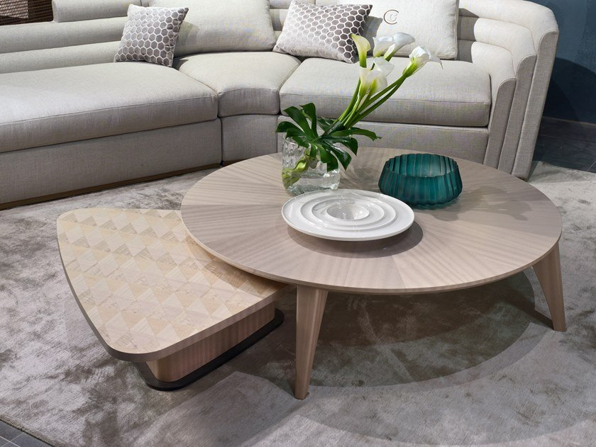 Round coffee table CIRCLE | Round coffee table by Carpanelli Contemporary